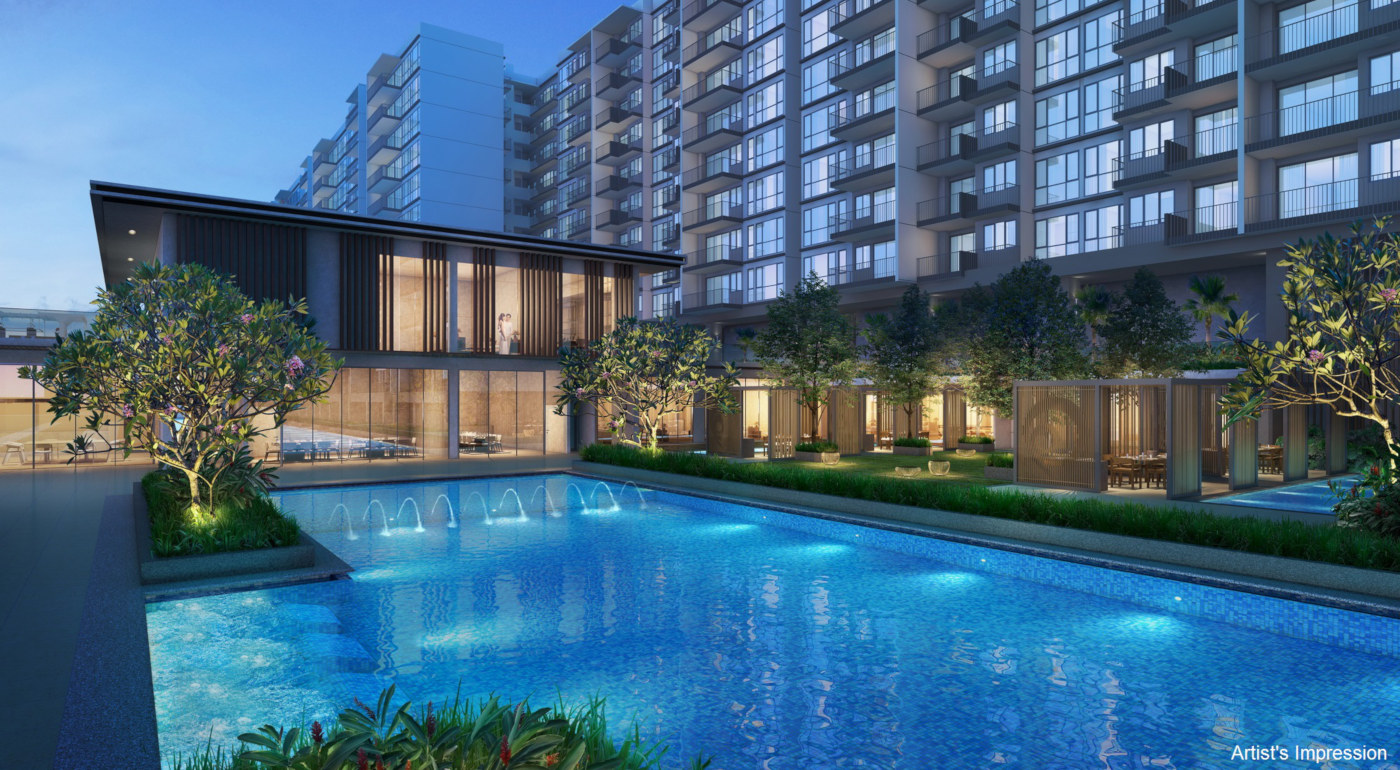 Artist's Impression . Treasure Condo Singapore . Clubhouse