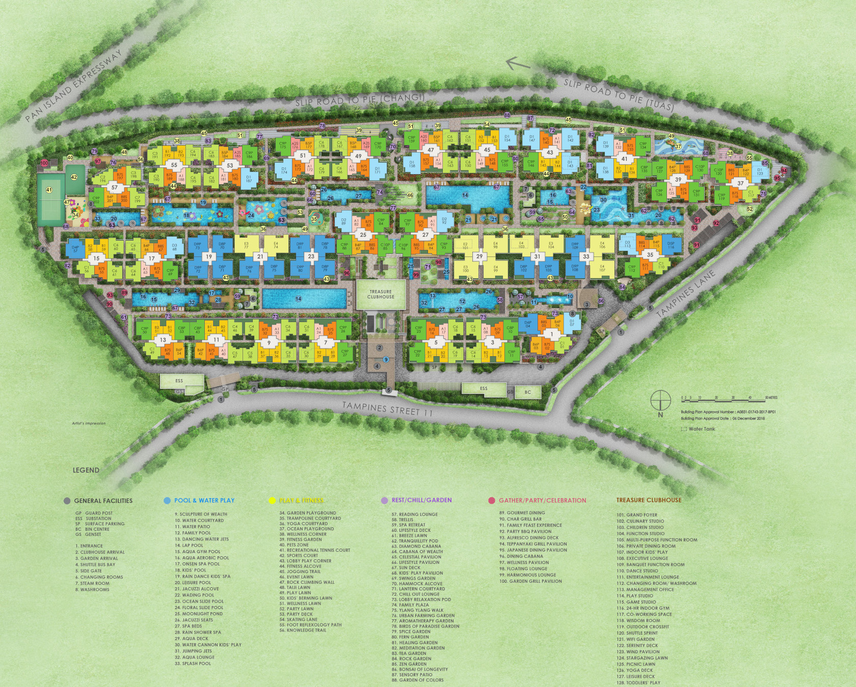 Treasure Condo Site Plan