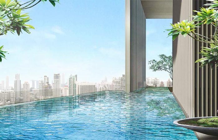 TwentyOne Angullia Park Floor Plan . Infinity Pool