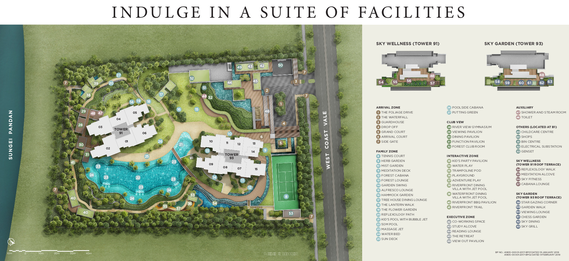 Twin View Site Plan Layout