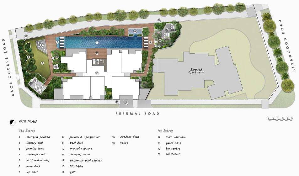 Uptown Condo Site Plan