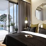 Uptown at Farrer Showflat . Bedroom