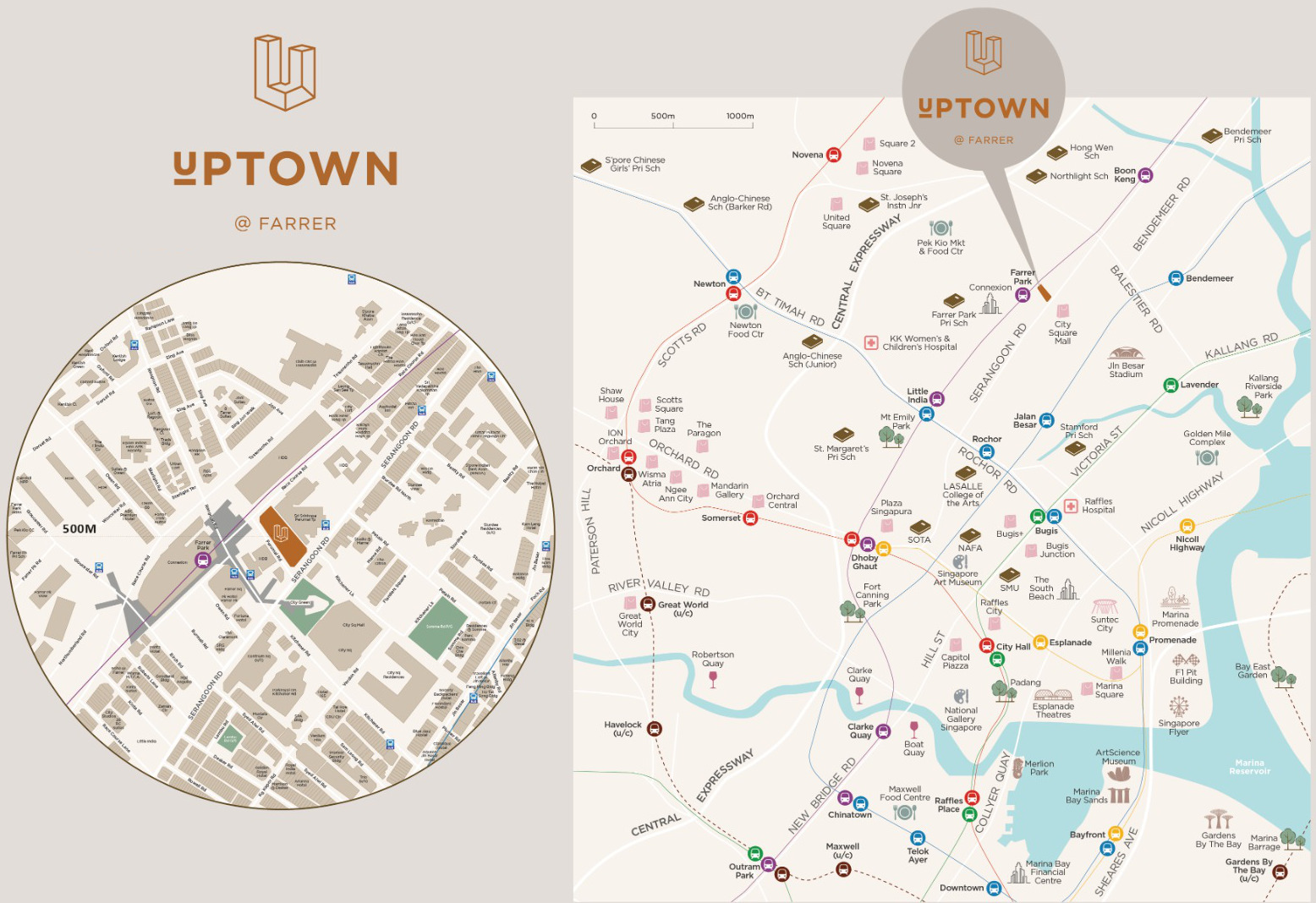 Uptown at Farrer Map
