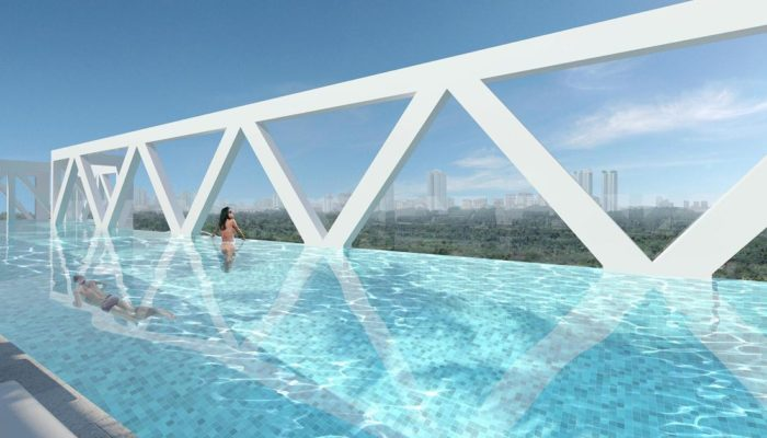 Sky Habitat Bridge Pool
