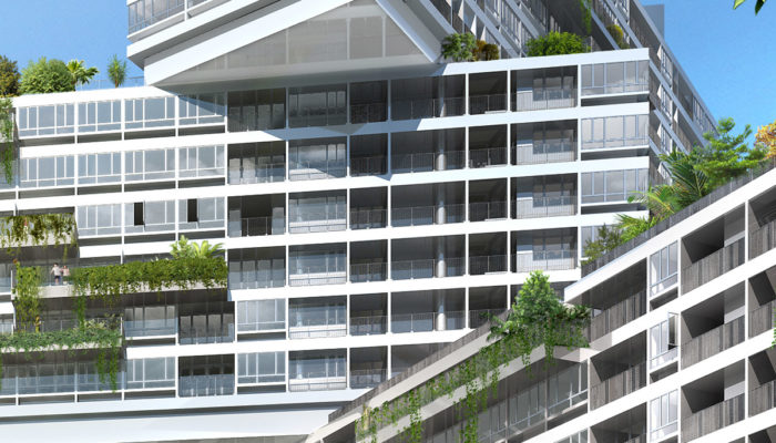 The Interlace Condo Blocks