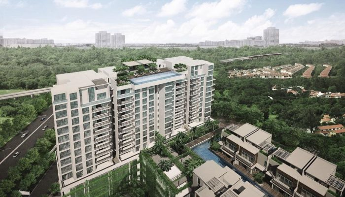 eCO Bedok Condo View from Above