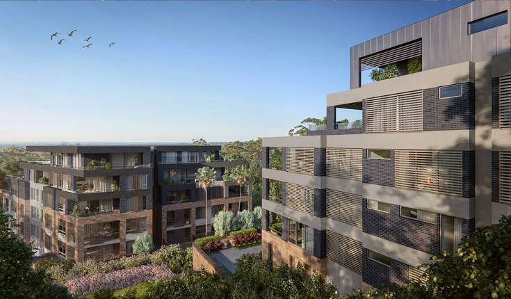 Octavia Killara (Sydney, Australia) by Roxy Pacific . Developer for this Farrer Road Condo