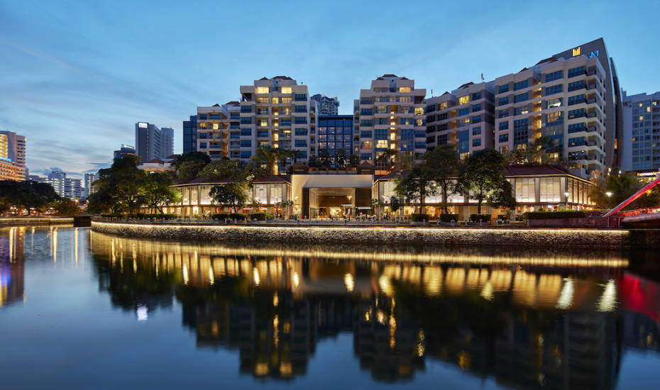 Robertson Quay near The Avenir Singapore