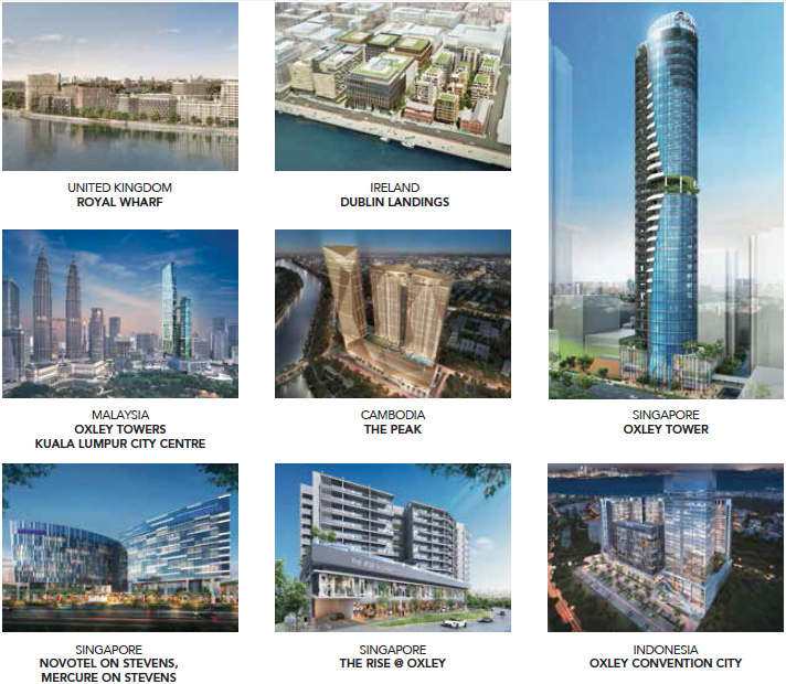Projects by Oxley Holdings