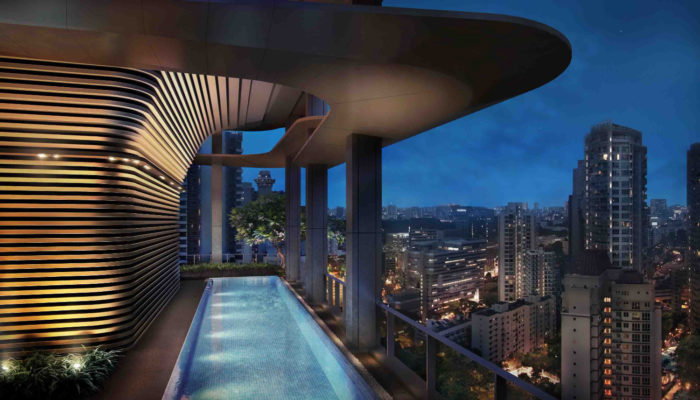 New Futura Condominium Sky Terrace Pool