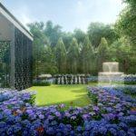 Park Colonial Condo Flower Garden