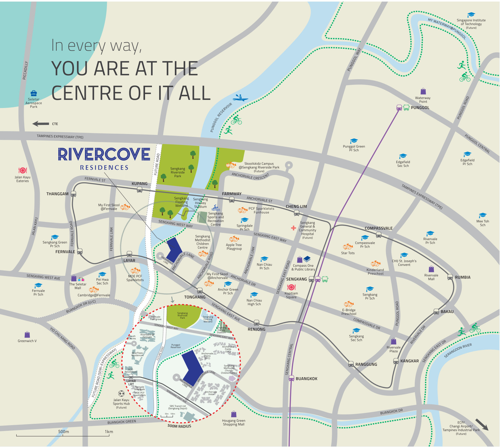 RiverCove EC Location Map