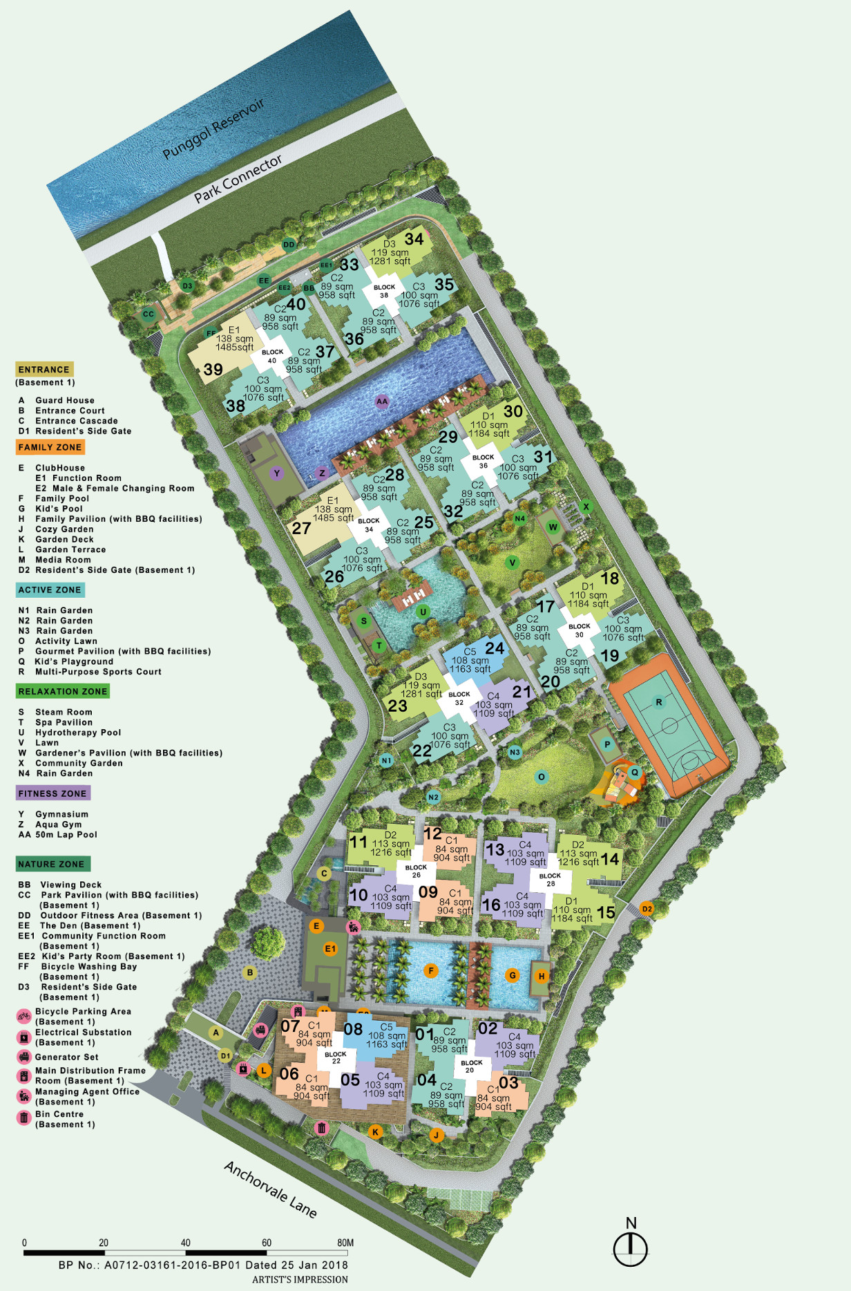 Rivercove Site Plan Layout
