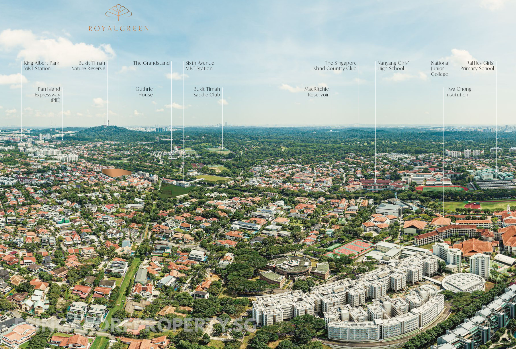 Royal Green Location @ Bukit Timah . Features