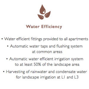 New Futura Eco Sustainability . Water Efficiency