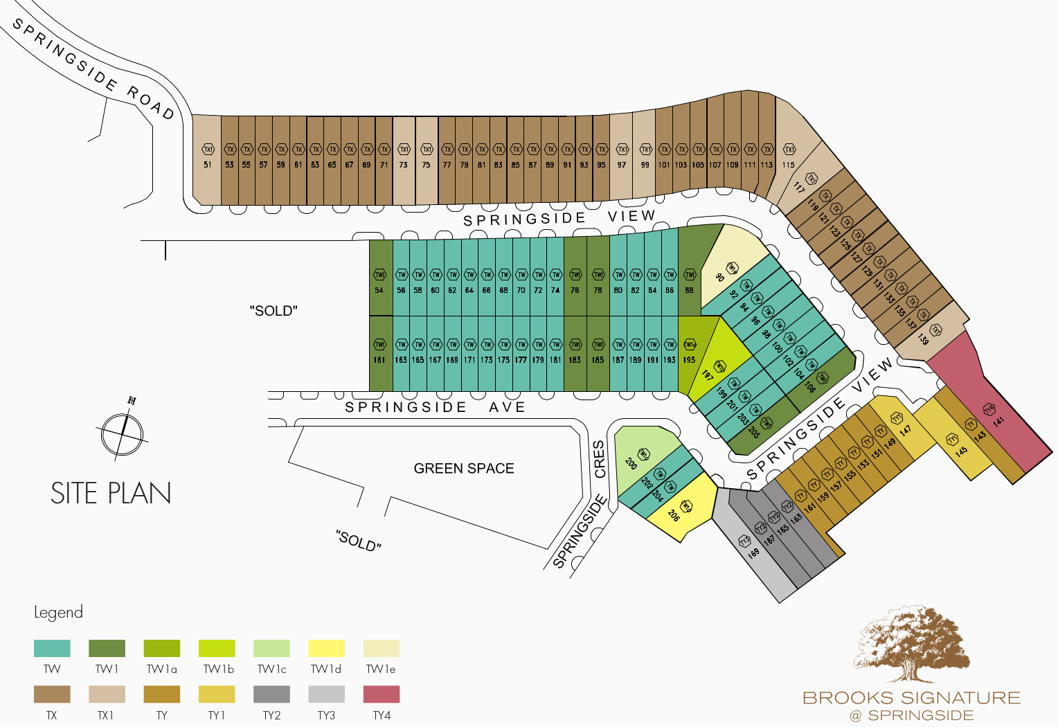 Brooks Signature Site Plan