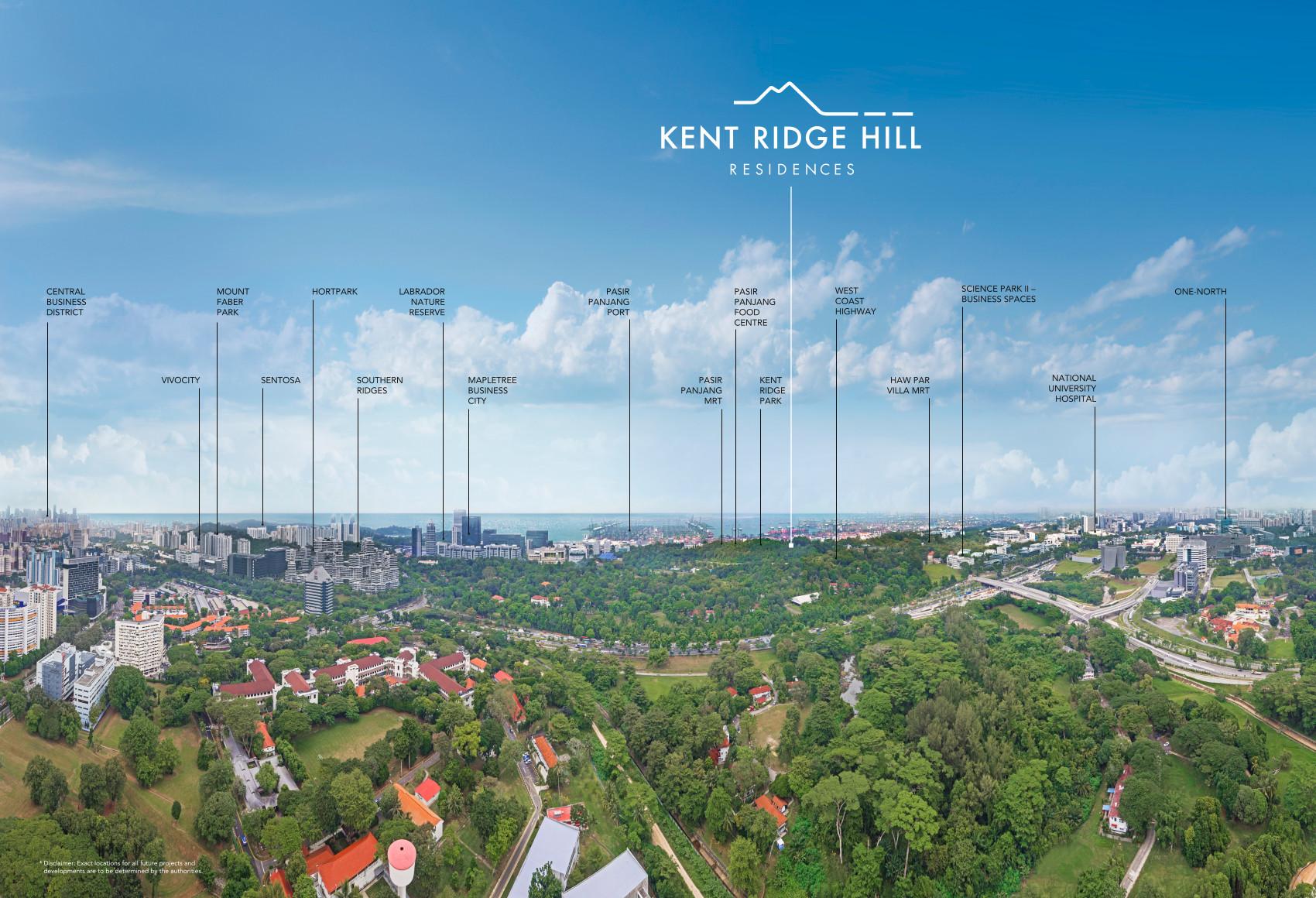 Kent Ridge Hill Residences Location . West Coast View