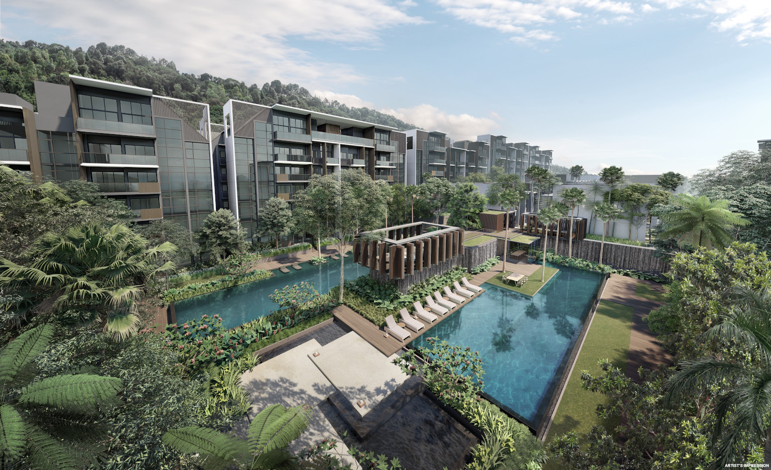 Kent Ridge Hill Residences by Oxley . Developer for 1953 Singapore