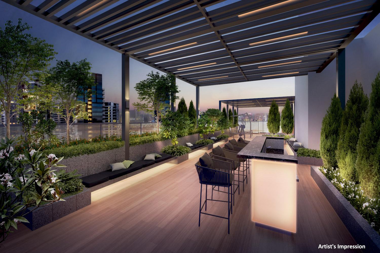 Artist's Impression . RV Altitude Condominium Stellar Pavilion