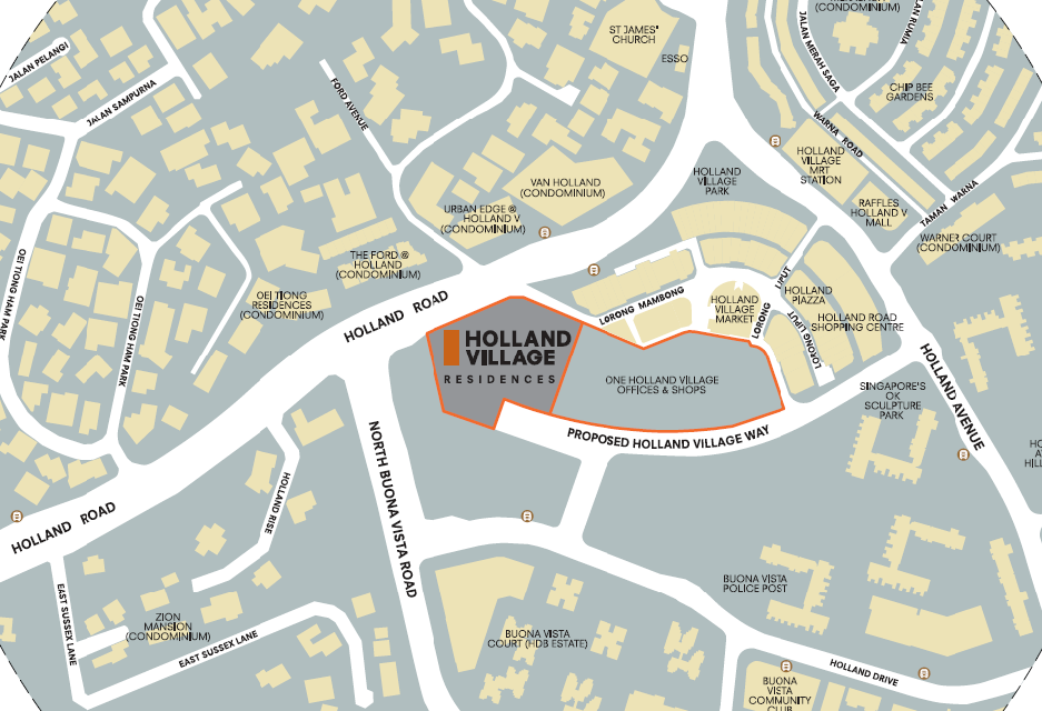 1 Holland Village Residences Site Location Plan
