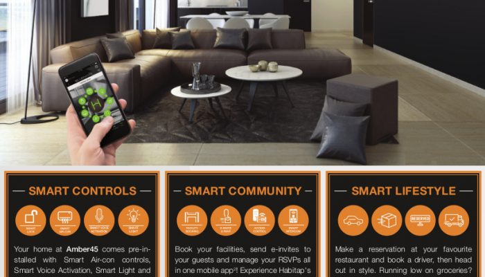 Amber45 Singapore Smart Home System
