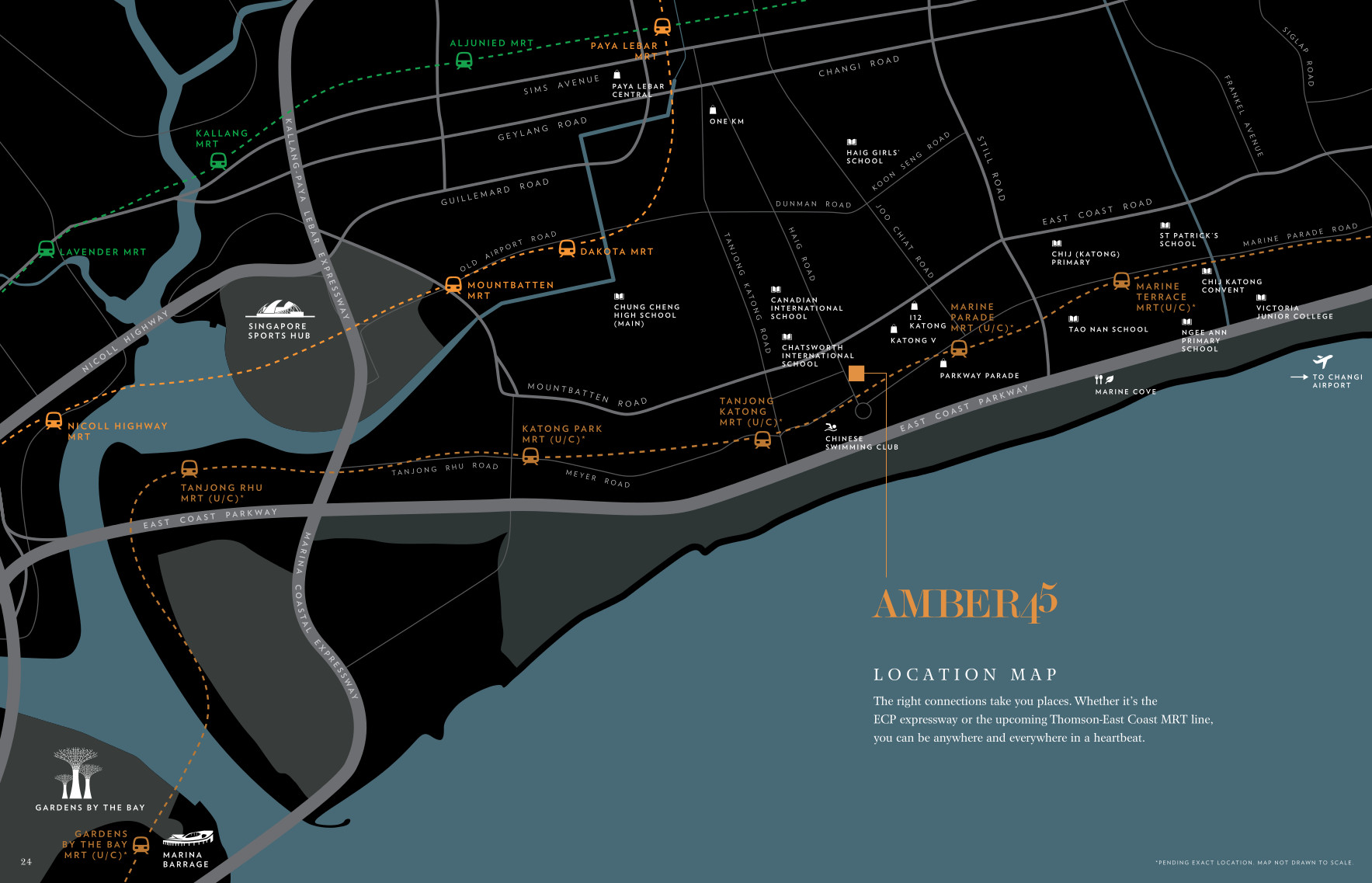 Amber45 Location Map