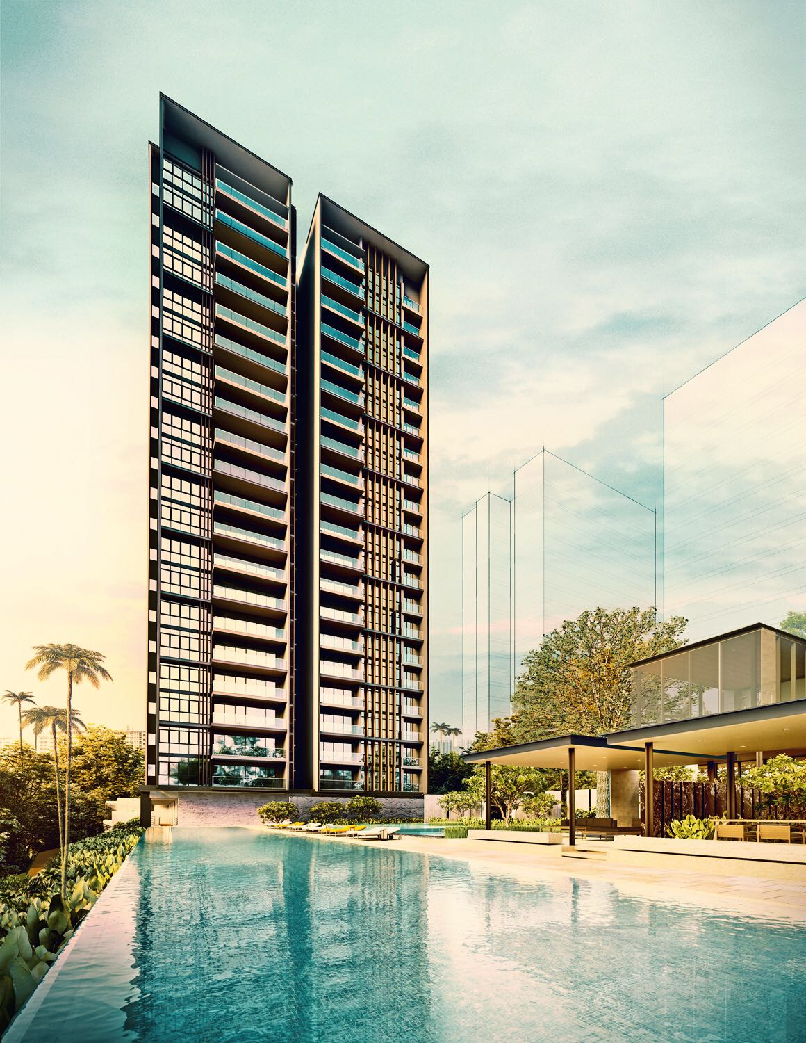 Amber45 Condo . Developed by UOL Group