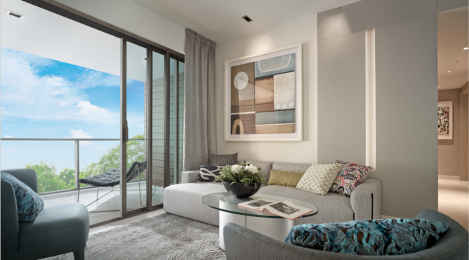 Artist's Impression . Ki Residences Showflat