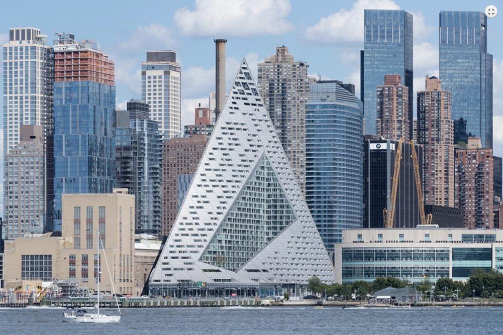 Bjarke Ingels 57W in New York