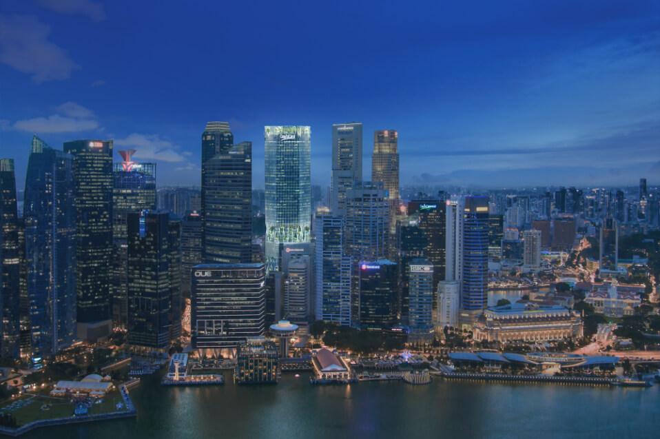 Capitaspring Singapore Designed by Bjarke Ingels