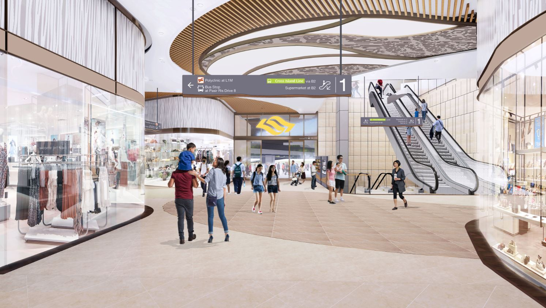 CRL Pasir Ris Station Concourse