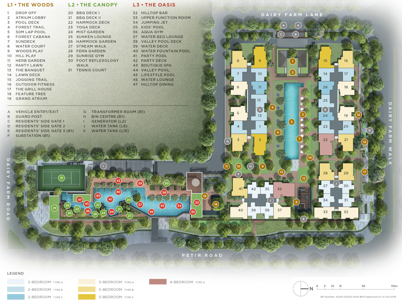 Dairy Farm Residence Site Plan