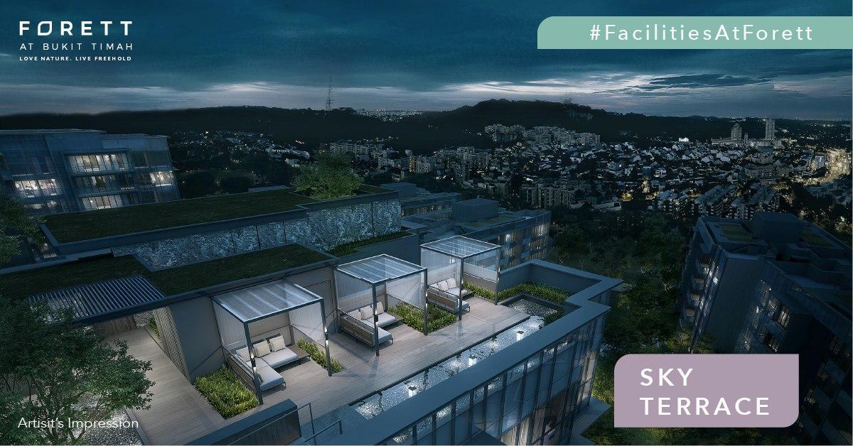 Forett @ Bukit Timah . Sky Terrace