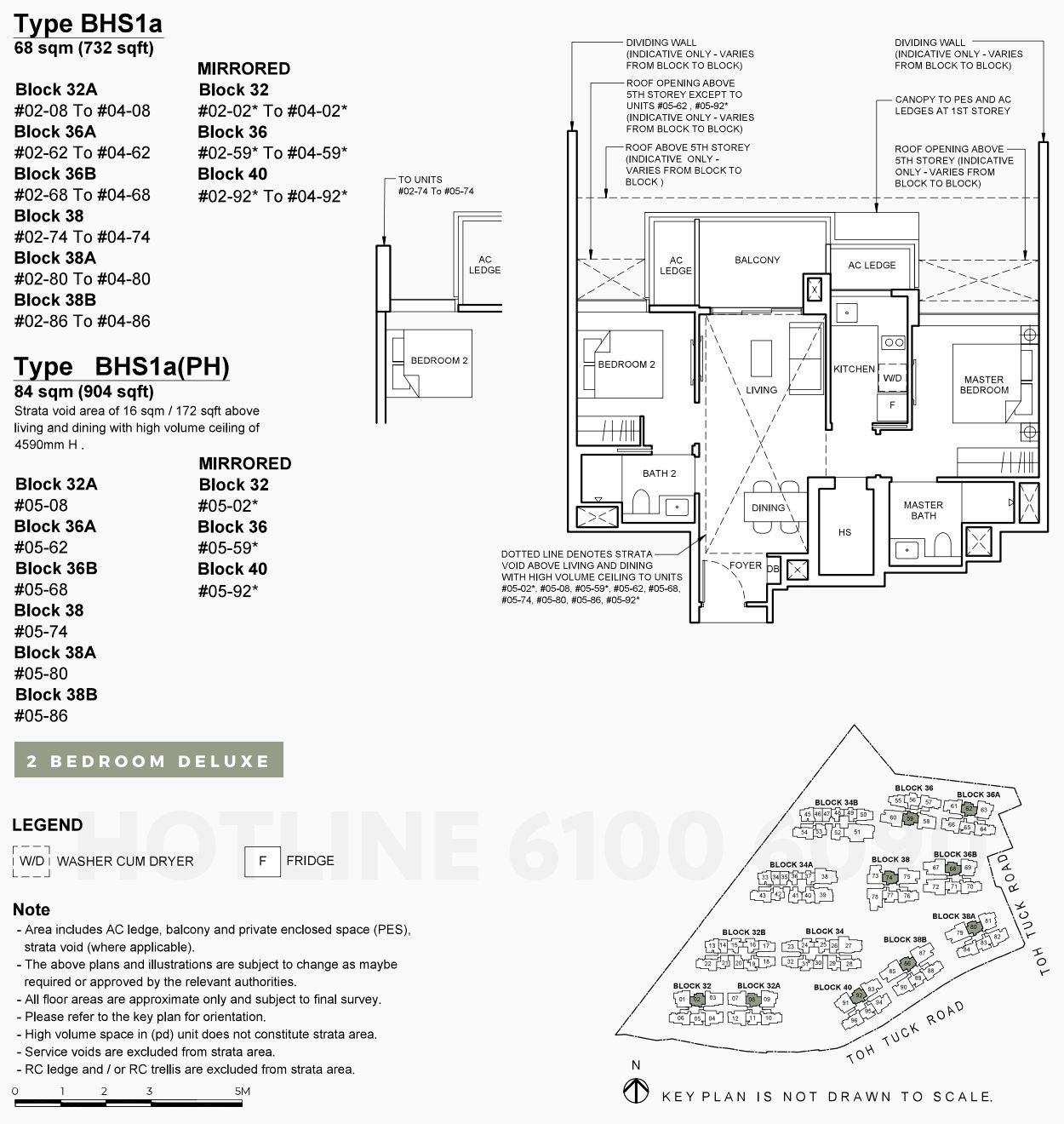 Forett Condo Floor Plans . 2 Bedroom Deluxe Type BHS1a