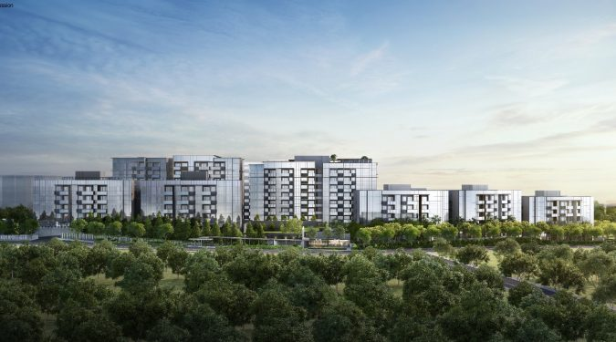 Artist's Impression . Forett at Bukit Timah Condo View
