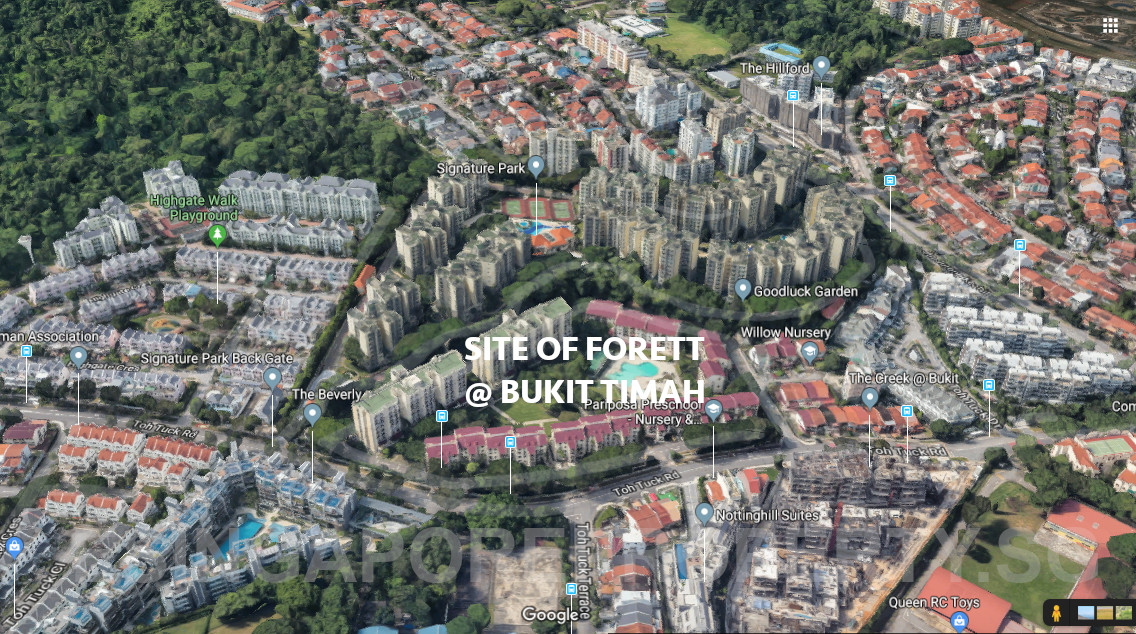 Forett at Bukit Timah Location View