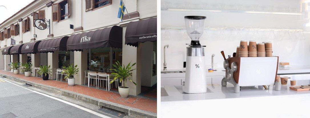Hipster Cafes at Kampong Glam