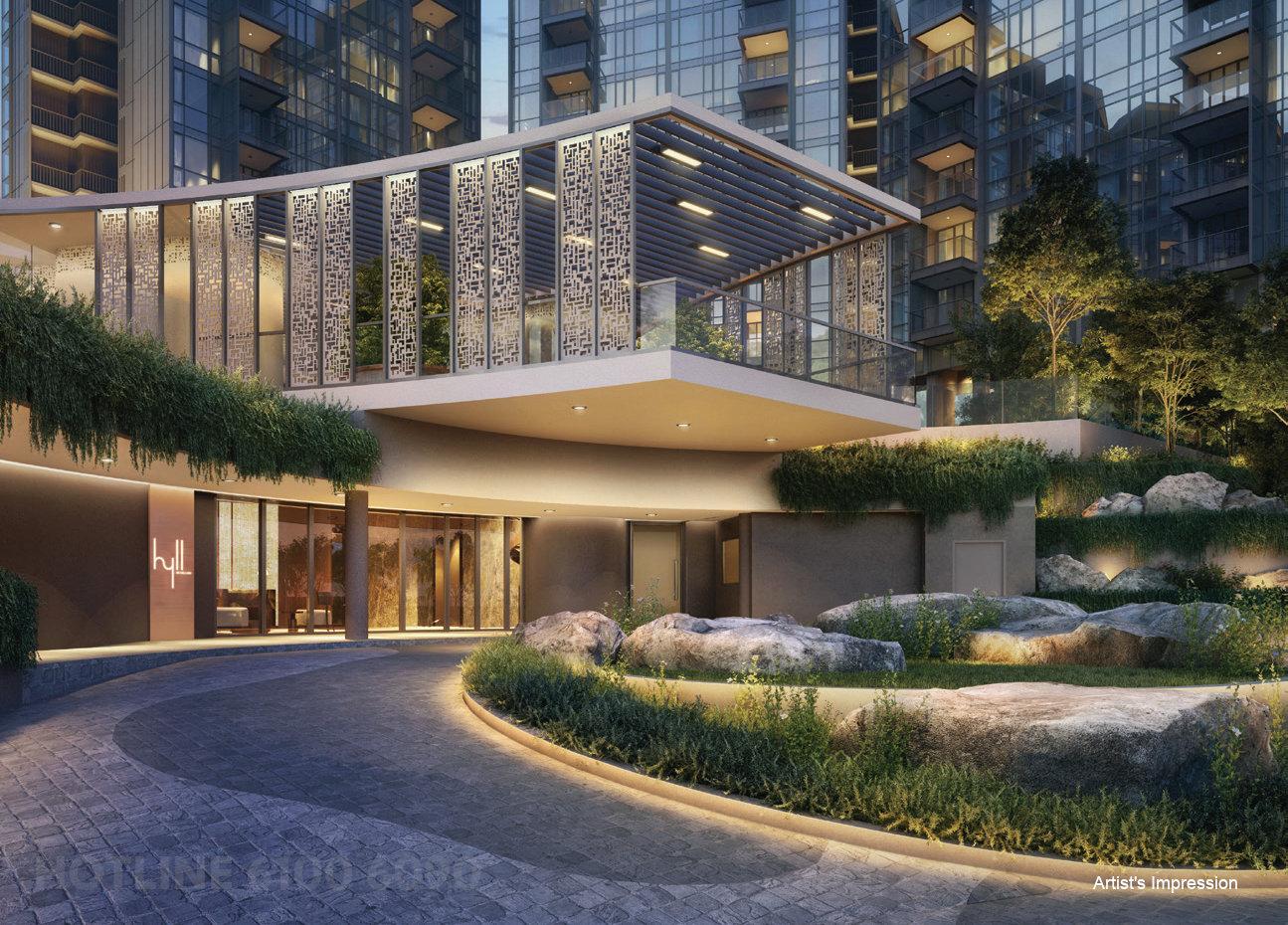 Hyll at Holland Condominium Arrival Drop Off