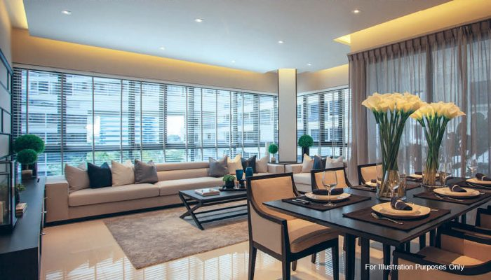 Interlace by Capitaland . Developer for Canninghill Square
