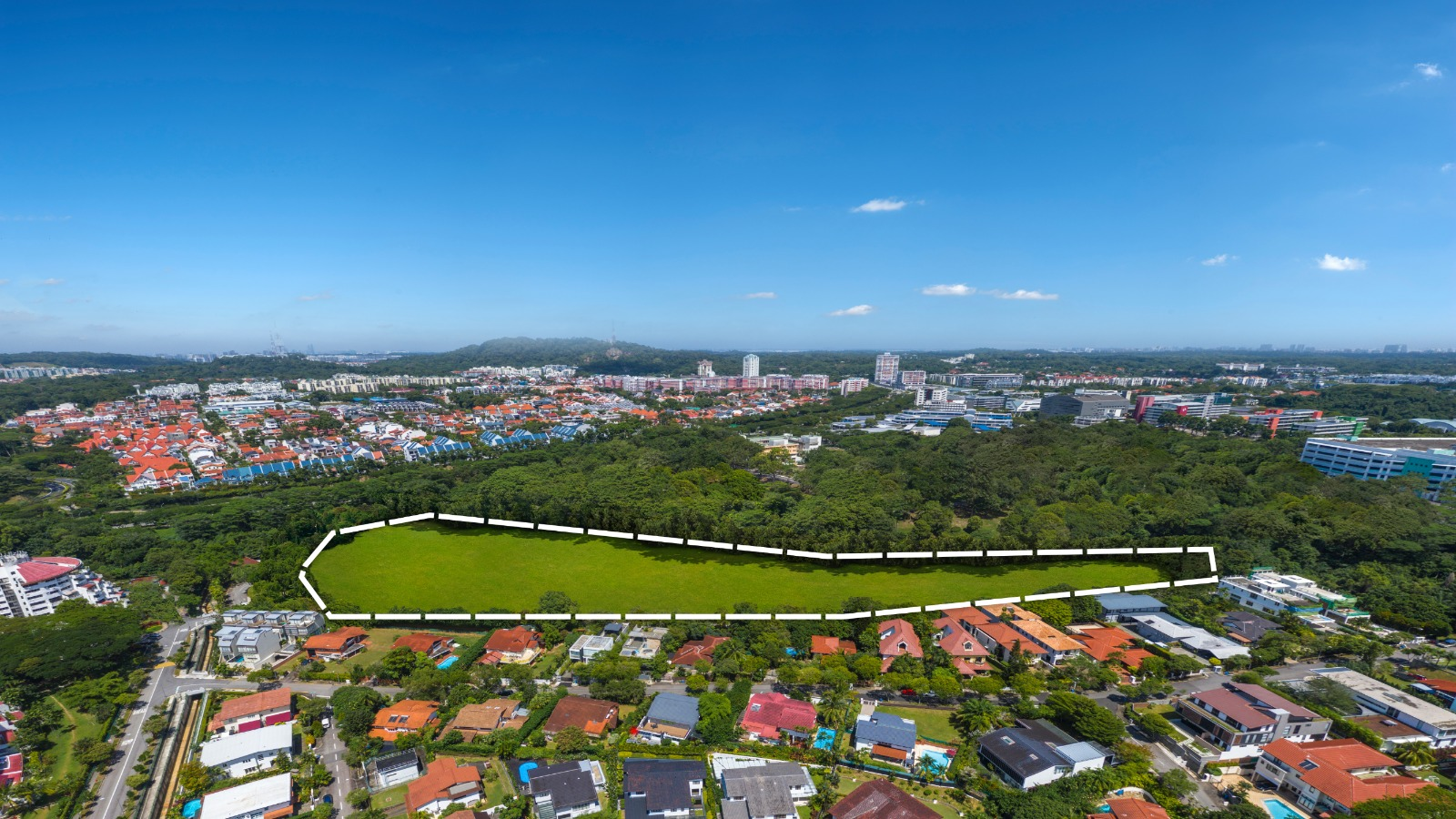 KI Residences Site & Location . Bukit Timah Hill in Background