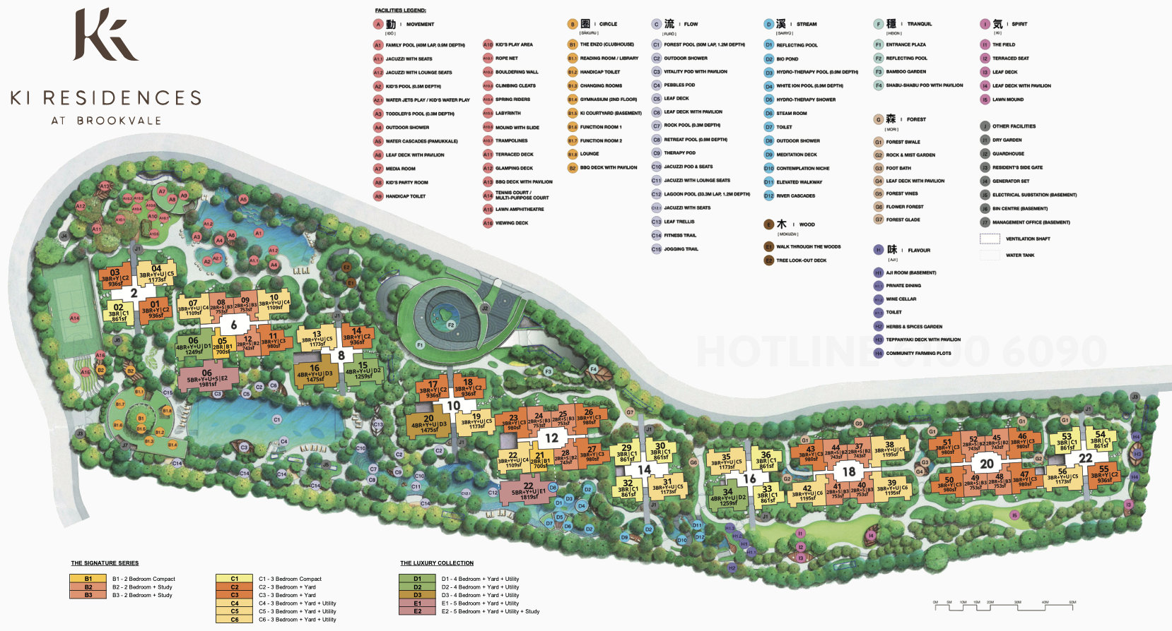 Ki Residences Site Plan Layout