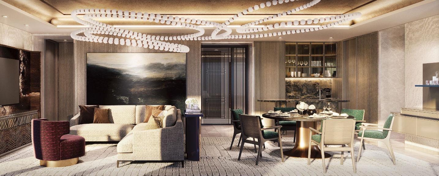 Klimt Cairnhill Condo Showflat . 4 Bedroom Prestige