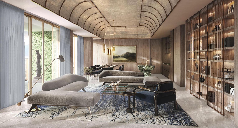 Klimt Cairnhill Penthouse . Living Room