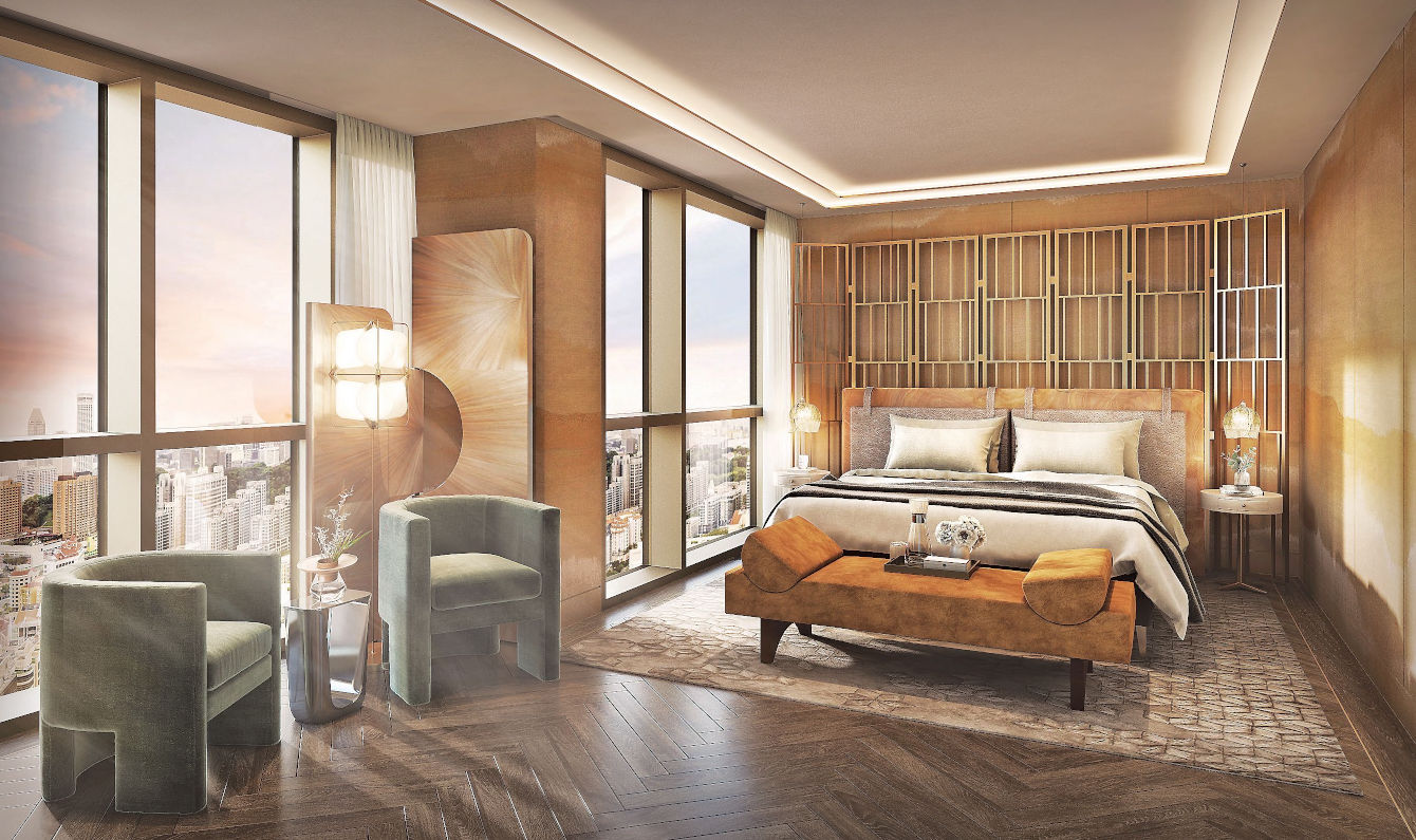 Penthouse Royal . Master Bedroom