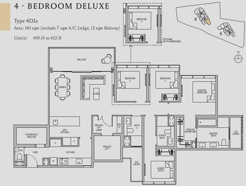 Kopar Newton Floor Plans . 4 Bedroom Deluxe
