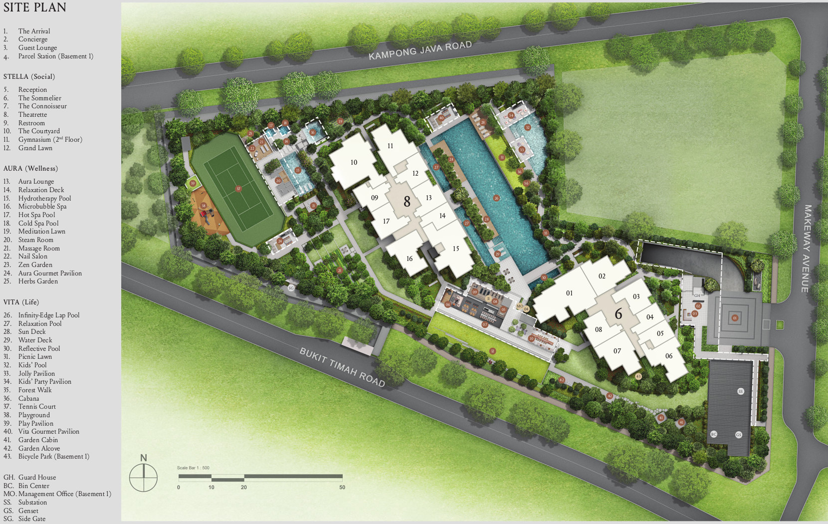 Kopar Site Layout Plan