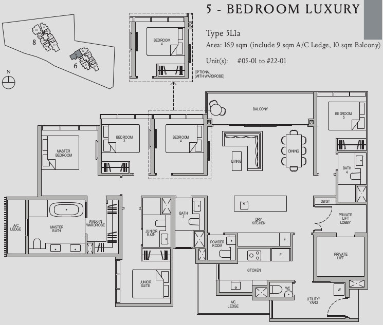 Kopar at Newton Floor Plan . 5 Bedroom Luxury