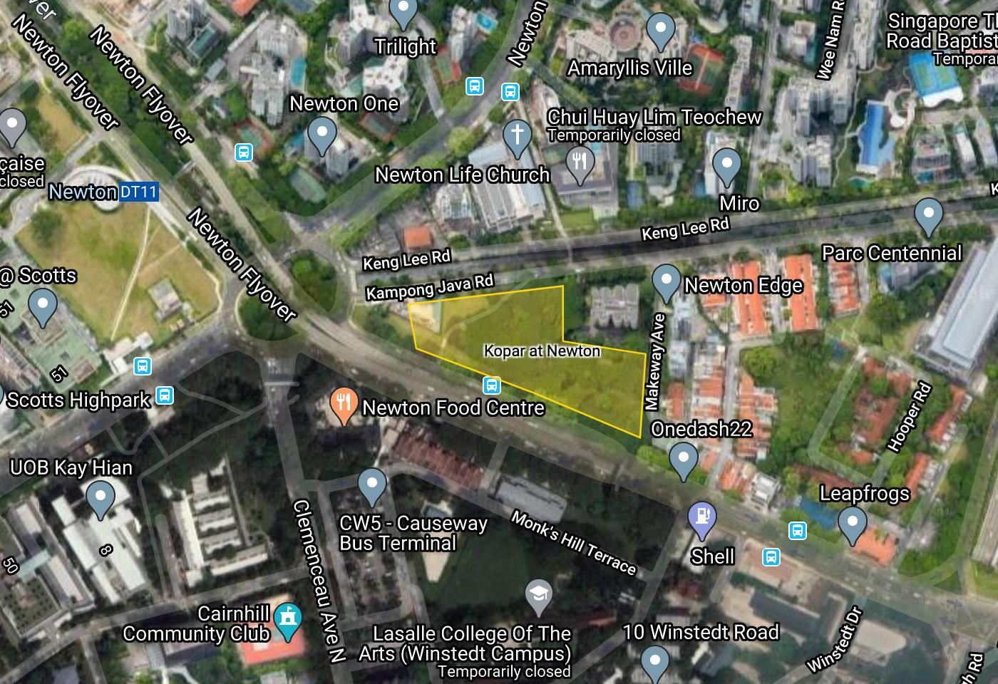 Kopar Site Location Plan