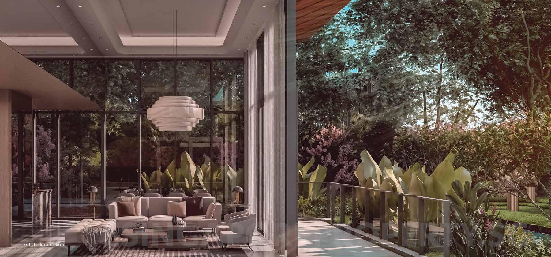 Leedon Green Condo Garden Villa