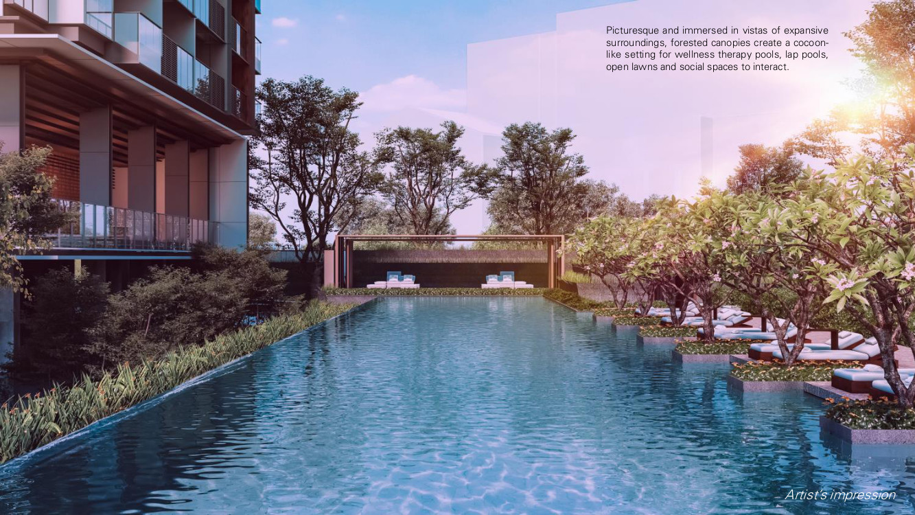 Leedon Green Condo . Lap Pool